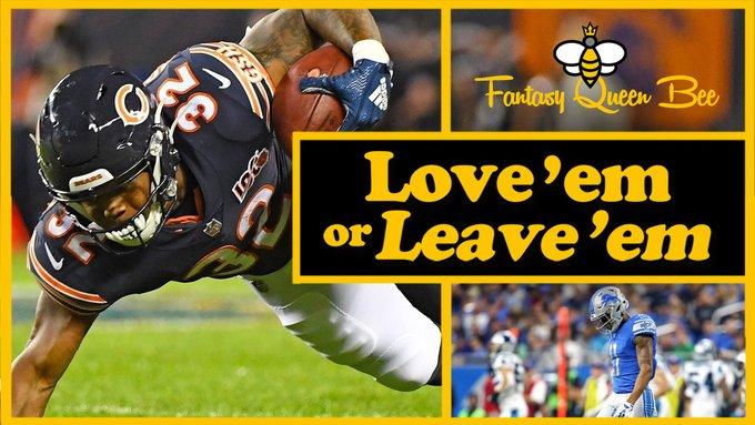 BYE week blues - Love em or Leave Em Week 6